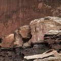 Fremont rock art along Highway 24.- Must-do Scenic Drives in Utah