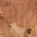 The Fruita Petroglyph Panel.- Capitol Reef National Park