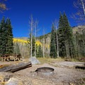 Campsite at Fulford Cave Campground.- Guide to Camping in Colorado