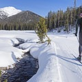Cross-country skiing in Idaho's Sawtooth Mountains.- 12 Months of Adventure: January - Snowventures