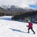 Enjoying the freshly fallen snow with Galena Peak in the background. - 3 Instagram-Worthy Adventures in Sun Valley, Idaho
