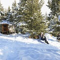 Senate View Yurt at Galena Pass north of Sun Valley, Idaho.- 7 New Ways to Explore Old Man Winter this Season
