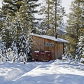 The sauna near the yurts at Galena Lodge.- Best of Sun Valley for Fun-Loving Families