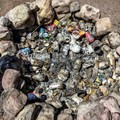 Fire pits are not trash cans. Pack it in, pack it out.- Sex, Drugs, and Swimming Holes