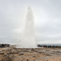 Strokkur erupting!- 1-Week Adventure Itinerary for Iceland