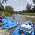Beginning a trip on the Middle Fork Flathead.- 10 Great Rafting Trips in the Rocky Mountains