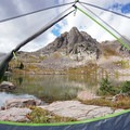 A room with a view at Gore Lake. - 70 Breathtaking Backcountry Campsites