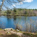 Front Bay Park is accessible from Back Bay of Lake Winnipesaukee  and offers a short walking path, benches, and a covered picnic table.- New Hampshire's Best Lakes for Summer Adventure