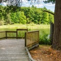 Viewing area at Upper Peverly Pond in Great Bay National Wildlife Refuge.- 5 Reasons to Visit New Hampshire's Coast This Summer