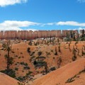 View of China Wall on the Fairyland Loop.- Bryce Canyon National Park