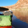 Overnight gear loaded onto an inflatable stand-up paddleboard.- Whitewater 101: How to Prepare for a Day on the River