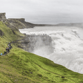 A walking path along the Gullfoss.- 14 Must-Do Activities In Iceland