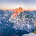 Beautiful winter views from Glacier Point.- Glacier Point Cross-Country Ski
