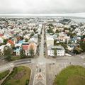 View from the top of Hallgrímskirkja.- 48 Hours in Reykjavík