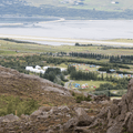 View of Hamrar from descending Súlur.- Guide to Iceland's Ring Road