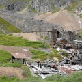 View of the dilapidated Mill Complex at Independence Mine State Historic Park.- Our Guide to Epic Alaskan Summer Explorations