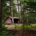 Heart Lake: Lean-to campsite 5 is a lakeside site.- 10 Amazing Camping Spots in the Adirondacks