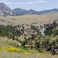 Hiking into the Buffalo Plateau from Hellroaring Creek Trailhead.- 15 Backcountry Hikes in Yellowstone National Park