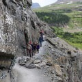 Ranger-guided hikes on the Highline Trail.- A Weekend in Glacier National Park
