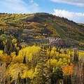 You pass this Swiss-themed town as you head toward Park City on Highway 190.- The Best Leaf-Peeping Adventures for Fall Foliage