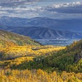 Heading toward Midway and Heber City along Highway 190.- The Best Leaf-Peeping Adventures for Fall Foliage