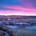 Incomparable views at Hilltop Hot Spring at dawn. This beauty is vulnerable, so take care of them so that access may endure!- The Naked Truth About Hot Springs