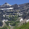 Stewart Falls can be seen from the Primrose Overlook.- Mount Timpanogos Wilderness