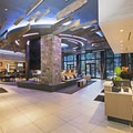 The lobby at the Limelight Hotel.- A Winter Paradise in Sun Valley, Idaho