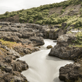 Looking upstream on the Hvitá River.- Guide to Iceland's Ring Road