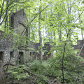 Barn ruins of the Cornish Estate on the Notch Trail (Blue).- 3-day Hudson Valley Adventure Itinerary