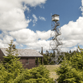 The tower and ranger station.- The 5 Remaining Catskill Fire Towers