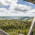 Views to the west from the Hunter Mountain Fire Tower.- The 8 Best Hikes in New York's Catskills