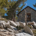 Stone hut just below the summit of Mount San Jacinto.- Best Day Hikes Near Palm Springs