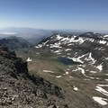 Views from the Steens Mountain summit.- Steens Mountain Summit Trail