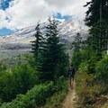 Views en route to Ape Canyon.- Ape Canyon