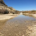 Hiking in Santa Elena Canyon, Big Bend National Park.- Ecosystems Divided: The Border Wall's Devastating Environmental Impacts