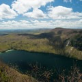 Views of Lake Willoughby from Mount Pisgah.- Dramatic Fjord Formations