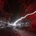 Light trails in the Ape Caves.- Amazing Western Caves and Tips for Exploring