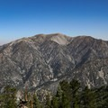 View of Mount San Antonio summit from the Ontario Peak Trail.- California's 60 Best Day Hikes