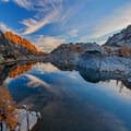 The shore of Crystal Lake.- Enchantment Lakes Thru-Hike