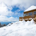 Martis Fire Lookout (8,667'), above Lake Tahoe.- Must-Do Winter Adventures in the West