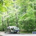 Deep Creek Campground offers spots for RVs, tents and group camping.- Guide To Camping In Great Smoky Mountain National Park