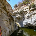 The swimming hole at Hermit Falls.- 15 Incredible Adventures in L.A.
