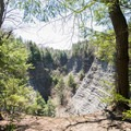 Looking west from the South Rim Trail.- 9 Must-See New York State Parks