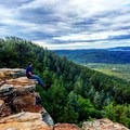 A view of the Mogollon Rim near Woods Canyon Lake.- 8 Arizona Hikes You Can't Miss This Spring