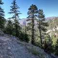 Great views on the hike to Cooper Canyon Falls.- Exploring the Angeles Crest Highway: A Complete Weekend Itinerary