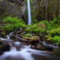 Dry Creek Falls, Oregon.- The West's 100 Best Waterfalls