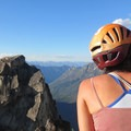 Enjoying the view from a well-earned summit.- How to Get Into Rock Climbing and Where to Start
