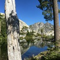 Wee Bear Lake.- Hiking in the Trinity Alps