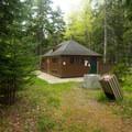 Restroom in Blackwoods Campground.- Acadia National Park